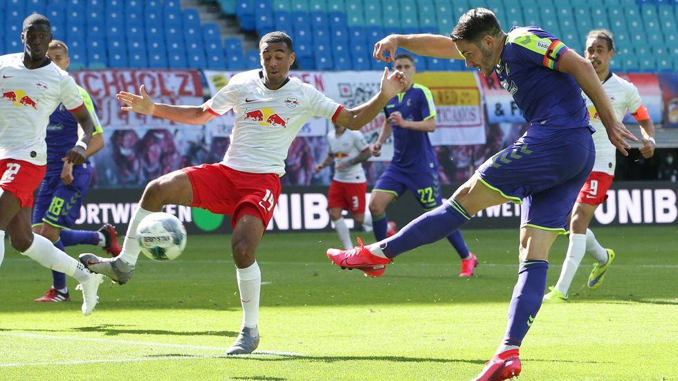 RB Leipzig hat vor leeren Rängen gegen Freiburg 1:1 gespielt.