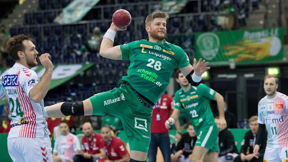 DHfK-Kreisläufer Maciej Gebala