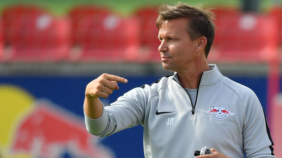 RB Salzburg-Trainer Jesse Marsch