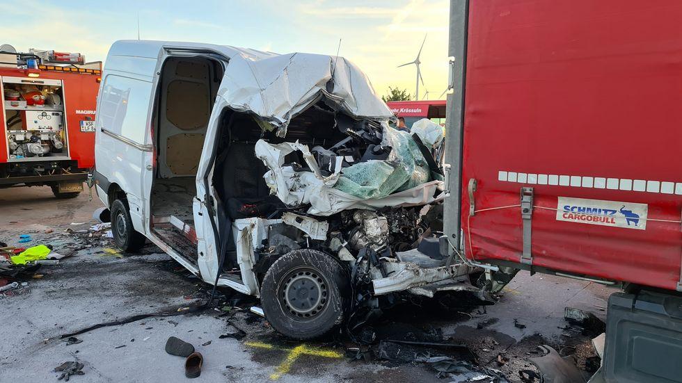 Tödlicher Unfall auf A 9 bei Weißenfels