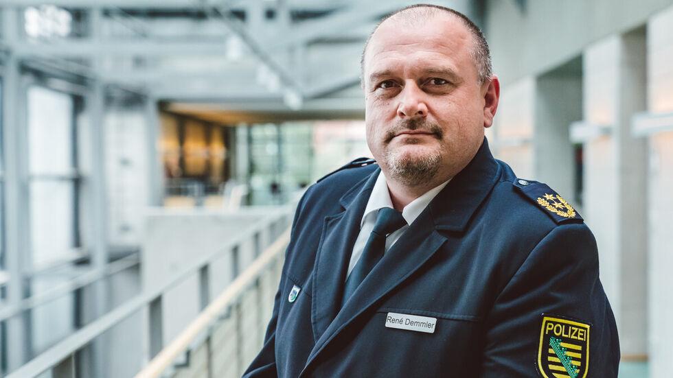 Leipzigs Polizeipräsident René Demmler