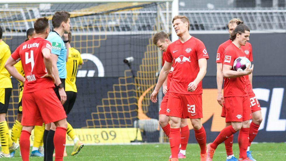 RB Leipzig gegen Borussia Dortmund
