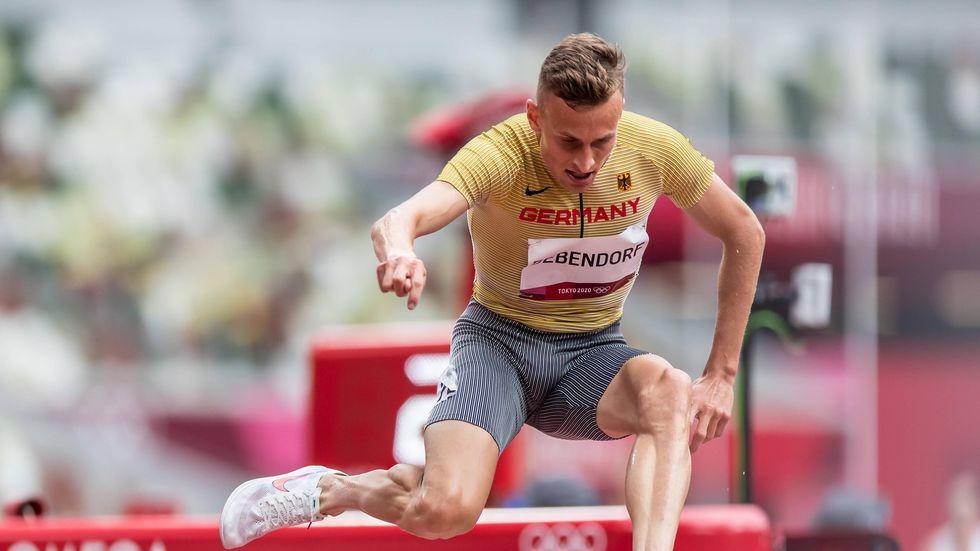 Der Dresdner Hindernisläufer Karl Bebendorf muss bereits nach dem olympischen Vorlauf die Heimreise antreten.