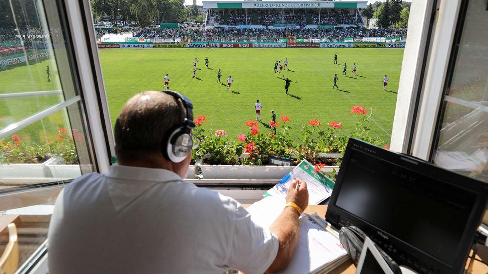 Alfred-Kunze-Sportpark in Leipzig-Leutzsch