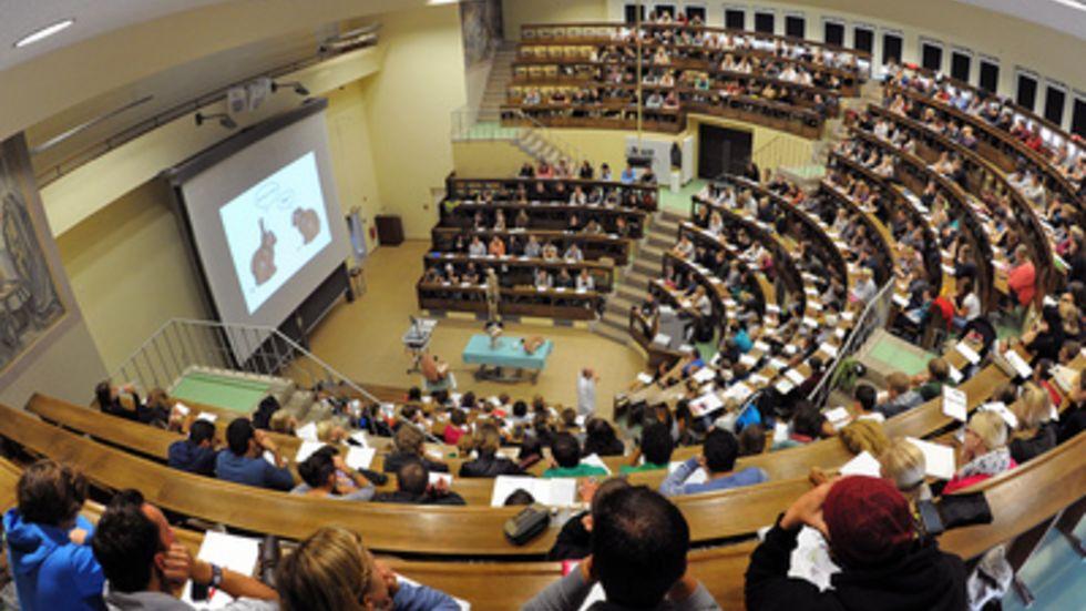Vorlesungssaal Uni