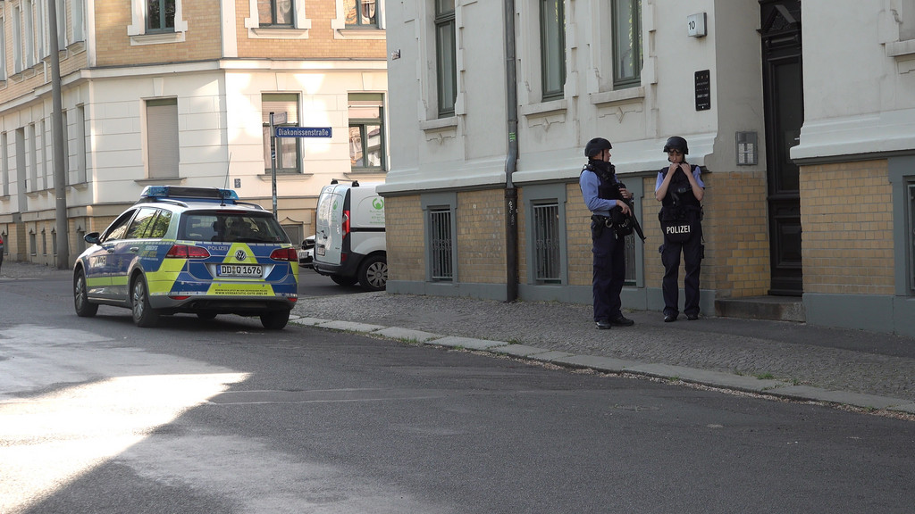 Polizeieinsatz Leipzig