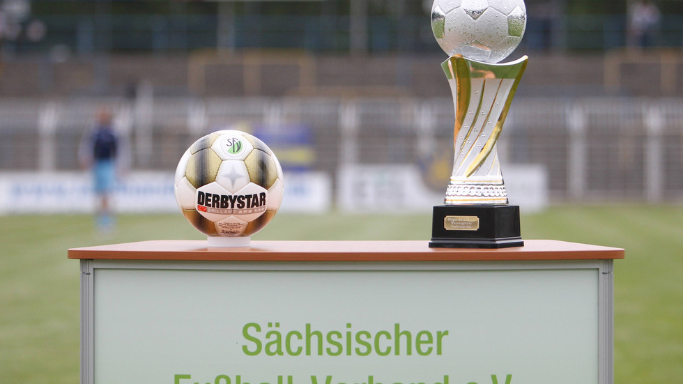 Der Landespokal des Sächsischen Fußball-Verbands.