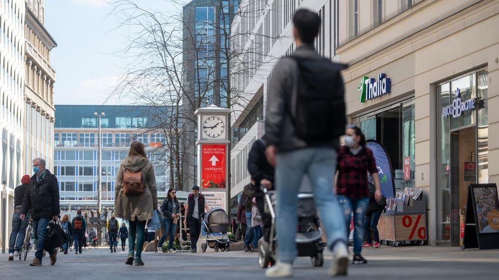 Grimmaische Straße in Leipzig