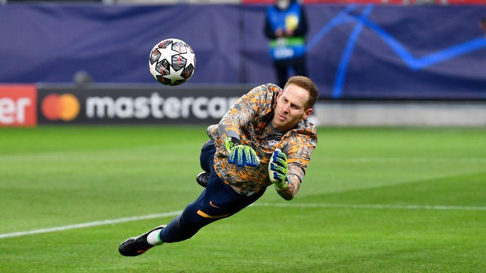 RB Leipzig-Torhüter Peter Gulacsi