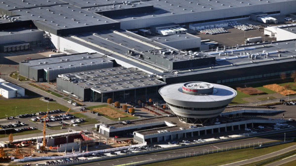 Porsche-Werk in Leipzig