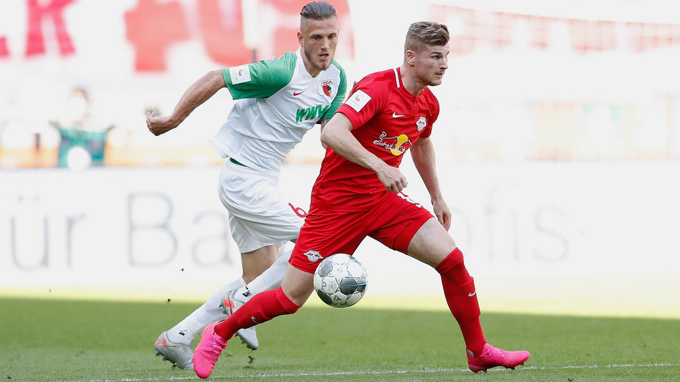 In seinem letzten Spiel für RB Leipzig hat Timo Werner einen Doppelpack geschnürt.