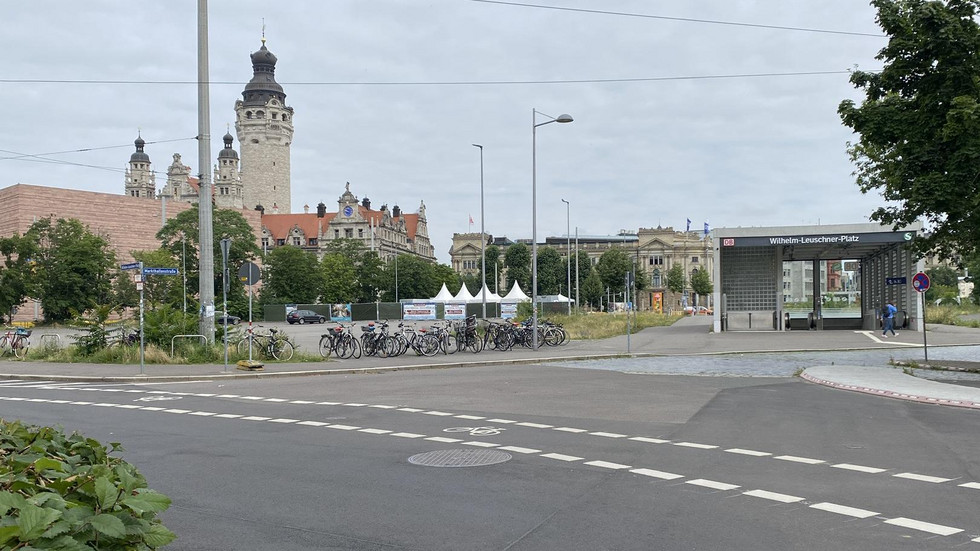 Wilhelm-Leuschner-Platz in Leipzig