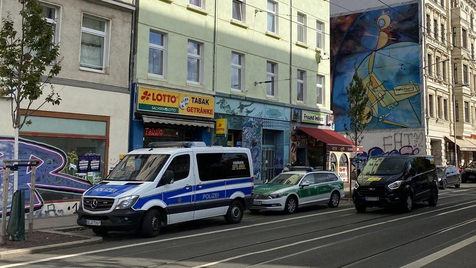 Polizeieinsatz Eisenbahnstraße
