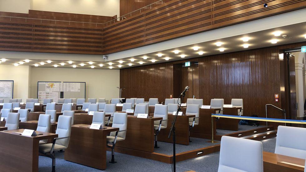 Ratssaal im Neuen Rathaus