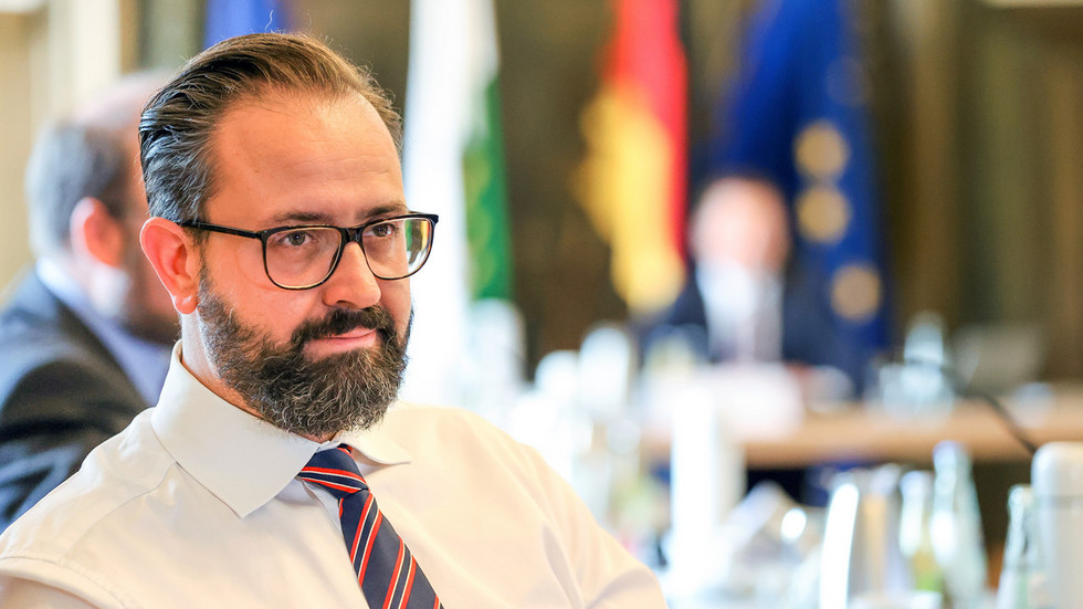 Wissenschaftsminister Sebastian Gemkow bei einer Kabinettssitzung (Archivbild)